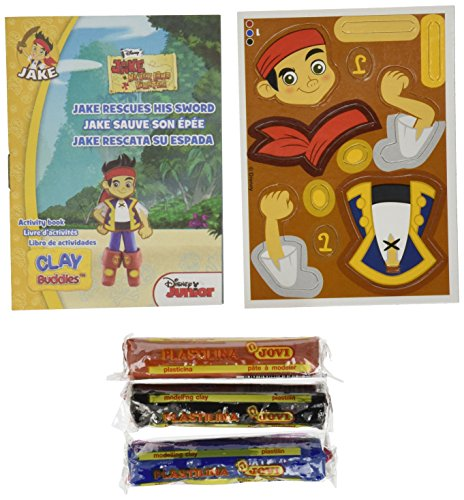 Giromax Jake The Pirate Blister Clay Buddies Pack