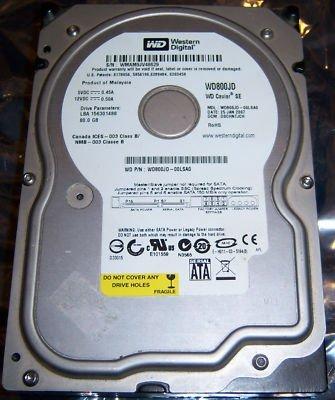 WD WD800JD-00LSA0 WD Caviar 3.5in 80GB SATA 8MB HDD WD800JD-00LSA0 (WD800JD00LSA0)