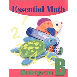 Essential Math, Kindergarten Level B