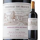 シャトー・ド・フラン 2006年 フランス ボルドー 赤ワイン フルボディ 750ml