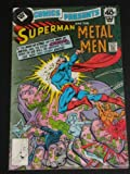 img - for DC COMICS PRESENTS #4 BRONZE AGE WHITMAN VARIANT DC COMIC BOOK SUPERMAN METAL MEN (DC COMICS PRESENTS, 1ST) book / textbook / text book