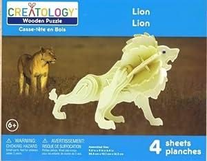 Creatology Wooden Lion Puzzle