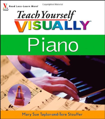 Teach Yourself VISUALLY Piano (Red Wagon Tutorials compare prices)
