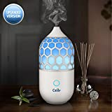 Calily™ Eternity Ultrasonic Essential Oil Diffuser Aromatherapy with Relaxing & Soothing Multi-Color LED Light - Perfect for Home, Office, Spa, Etc. [UPGRADED VERSION]