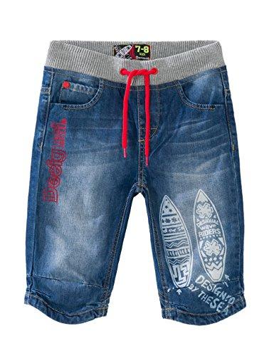 Desigual DENIM_CYAN-Shorts Bambino    Bleu (Denim Light Wash) 10 Anni