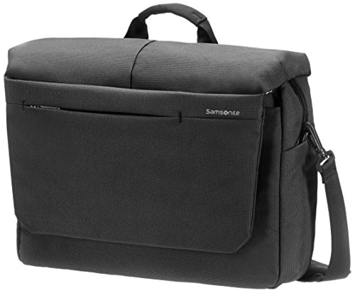"Samsonite Cartella Network 2 Laptop Messenger 16"" 16.5 liters Nero (Charcoal) 51894-1174"
