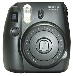 New Model Fuji Instax 8 Color Black Fujifilm Instax Mini 8 Instant Camera