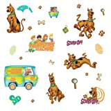 RoomMates RMK1696SCS Scooby Doo Peel & Stick Wall Decals