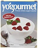 Yogourmet Freeze Dried Yogurt Starter, 3- 1oz Box (Pack of 3)