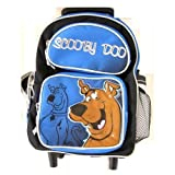 Wb Scooby Doo Toddler Sized (Medium) Luggage Rolling Backpack