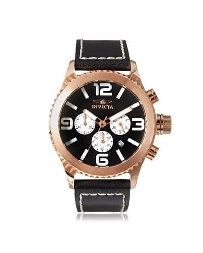 Invicta Men's 1429 Invicta II Black Genuine Leather Watch