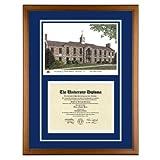 University of Rhode Island Diploma Frame with URI Lithograph Art Print