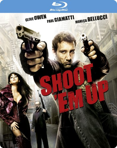 Shoot 'Em Up (Steelbook) [Blu-ray]