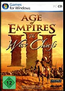 Age of Empires III : The War Chiefs (Add-on) - Version Allemande/ German Version