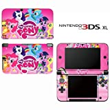 My Little Pony Friendship is Magic Princess Decorative Video Game Decal Cover Skin Protector for Nintendo 3DS XL