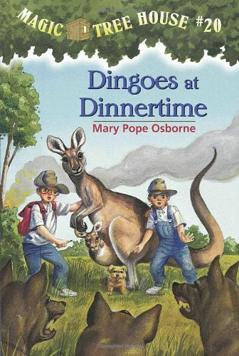 Dingoes at Dinnertime (Magic Tree House, No. 20) PDF