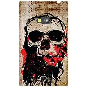 Printland Horror Phone Cover For Nokia Lumia 625