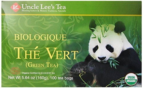 Legends Of China Organic Green Tea 100 Bags From Uncle Lee'S Teas, 2-Pack