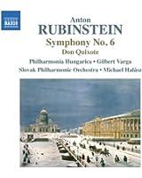 Rubinstein : Symphonie n° 6