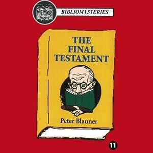 The Final Testament Audiobook