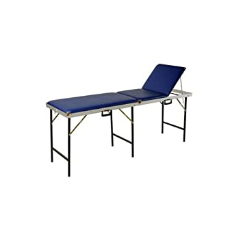 Suitcase 70 cm massage Bench Set of 3, Blue