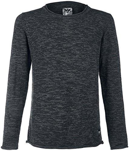 Black Premium by EMP Melange Sweatshirt Felpa girocollo antracite L