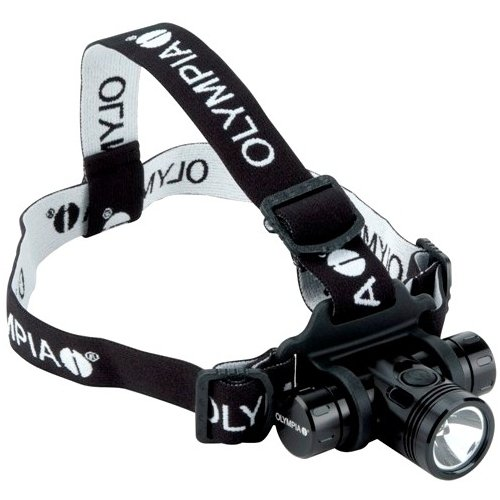 """Giant International - Olympia Ex550 Cree Xm-L Led Headlamp - Bulb - Cr123A - Aluminumbody - Black """"Product Category: Electric Lighting/Portable Lights"""""""