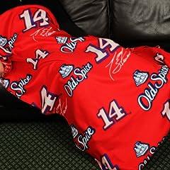 Buy Nascar Tony Stewart # 14 Old Spice Fleece Throw Blanket by Northwest by Northwest