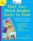 img - for What Your Third Grader Needs to Know (Revised Edition): Fundamentals of a Good Third-Grade Education (Core Knowledge Series) book / textbook / text book