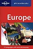 img - for Lonely Planet Europe Phrasebook (Lonely Planet Phrasebook: Europe) book / textbook / text book