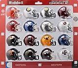 Riddell Speed Pocket Pro Helmet SEC Conference Set (16 Helmets) - The SEC set includes: Florida, Alabama, Georgia, Kentucky, Arkansas, Auburn, Missouri, South Carolina, LSU, Tenn (Smokey Mtn) 2018 Set