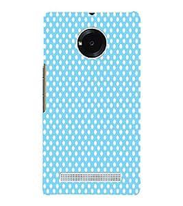 Sea Green Dots 3D Hard Polycarbonate Designer Back Case Cover for YU Yunique