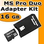Memory Stick Pro Duo Adapter Set inkl...