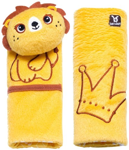 EZ Life Ez Life Lucky Lion Benbat Travel Friends Seat Belt Pals