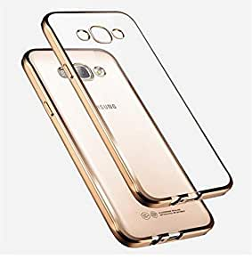 FONOVO Electroplated Back Cover for Samsung Galaxy Core 2 GOLD - Transparent with Gold Edges by FONOVO- Gold