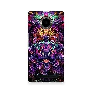 Ebby psychedelic buddha Premium Printed Case For Micromax YU Yuphoria