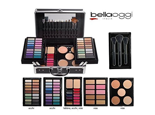 BELLA OGGI ITALIA TROUSSE VALIGETTA PROFESSIONALE PER MAKE-UP ARTISTS