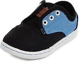 Toms - Tiny Paseos Shoes, Size: 11 M US Little Kid, Color: Black Blue