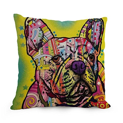 [Pillow Cases Of Dog Abstract Art,for Car,study Room,kids,dining Room,kids Room,kids 18 X 18 Inches / 45 By 45 Cm(each] (Toga Costumes Patterns)