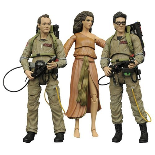 Ghostbusters Select Series 2 Action Figures Set of 3 by Ghostbusters