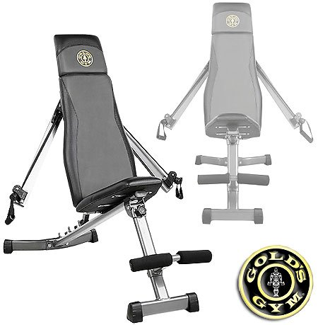Gold S Gym Ggbe1968 Xrs Slant Bench With Adjustable Arms Gold Gym