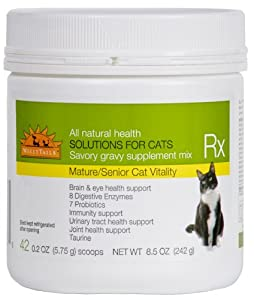 WellyTails Senior Mature Vitality Cat Rx Nutritional Supplement, 242gm from WellyTails Inc.