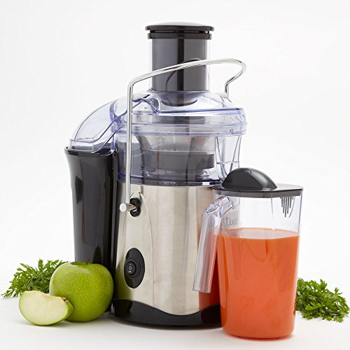 Vonshef Masticating Juicer Reviews : Fusion Juicer (Black&Stainless Steel) Masticating Juicer Reviews