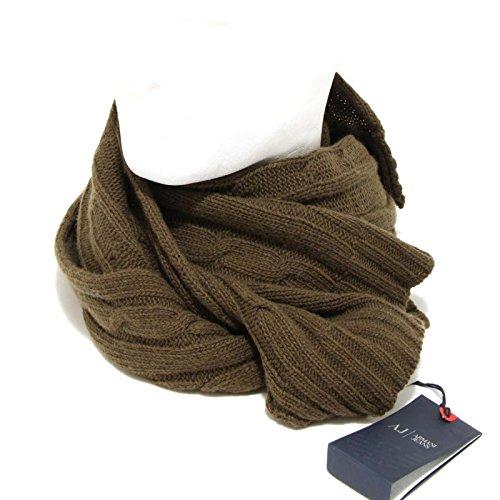 4800F sciarpa ARMANI JEANS LANA VISCOSA CACHEMIRE accessori uomo scarf unisex [UNICA]