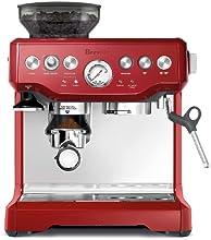 Breville BES870XL Barista Espresso, Cranberry