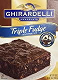 Ghirardelli Triple Fudge Brownie Mix (2 Pack)