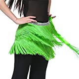 Dance Fairy hot special Fruit Green Argentina Belly Dance hip scarf belt gift.