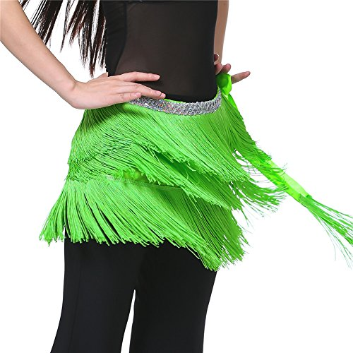 Dance Fairy dance team gift Fruit Green Argentina Belly Dance hip scarf belt