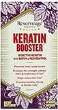 Reserveage Organics Keratin Booster with Biotin and Resveratrol,  60 Vegetarian Capsules