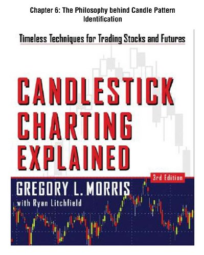 Candlestick Charting Explained, Chapter 6: The Philosophy behind Candle Pattern Identification